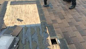 lack of underlay membrane under shingles