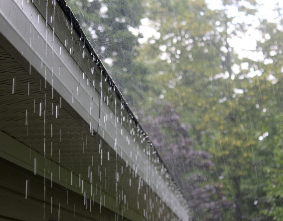 Toronto roof installation rain damage.